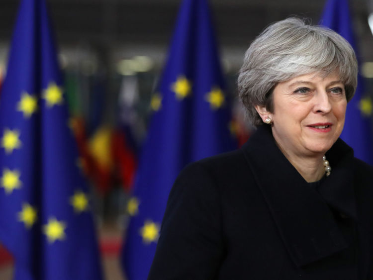 EU27 leaders applauded the Prime Minister at the dinner in Brussels