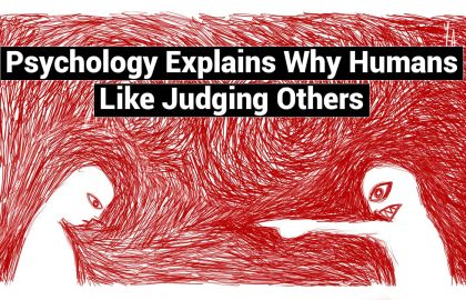Psychology Explains Why Humans Like Judging Others