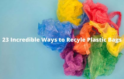 23 Incredible Ways to Recycle Plastic Bags